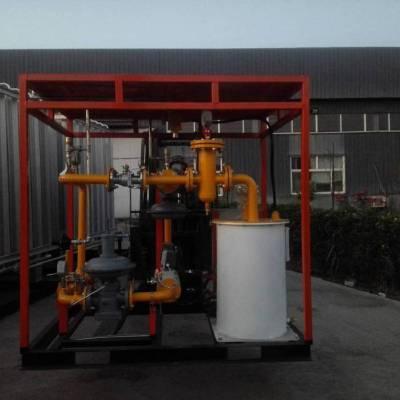 南宫弘创气体公司生产安全可靠撬装式工业用CNG减压装置