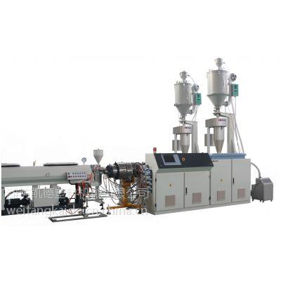 高速多层复合HDPE管材机组/高速复合HDPE管材设备/高速复合HDPE管材生产线/高速复合HDPE
