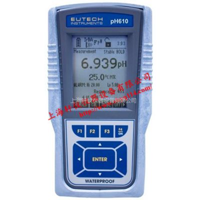 pH测量仪pH610-Eutech优特防水型便携式pH计