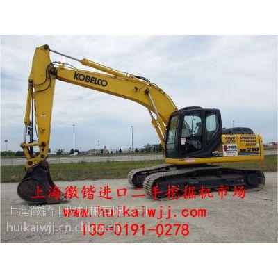 供应神钢大黄蜂210进口二手挖掘机