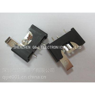 CR2032立式电池座2032-5-PIN