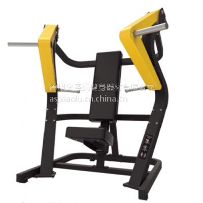 供应奥圣嘉坐式双向推胸训练器ASJ-Z962健身房专用大型力量器械大黄蜂平推健身器材锻炼胸部肌肉
