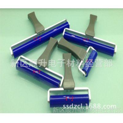 矽胶滚轮 手动滚轮  除尘硅胶滚轮 宽手柄粘尘滚轮 清洁滚轮14寸