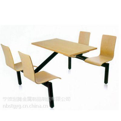 北仑餐桌 北仑食堂餐桌椅 北仑玻璃钢餐桌椅 北仑仿木餐桌椅