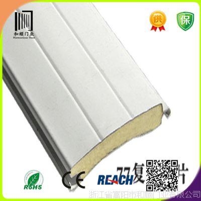 厂家批发自动铝型材门 保温车库门  电动欧式发泡型材门
