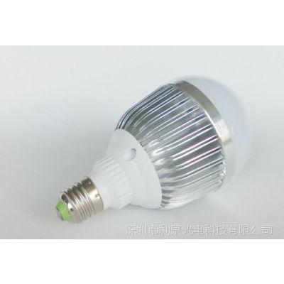 厂家货源 批发LED灯泡 18w 车铝 E27螺口 LED球泡灯 节能灯