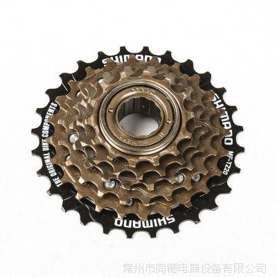 SHIMANO禧玛诺六速飞轮 ***保证 电动自行车配件 禧玛诺飞轮