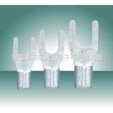 供应广东东莞批发KLS冷压端子SNB1.25-4等规格的叉形裸端子