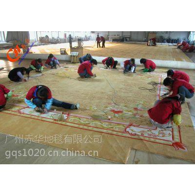 供应手工羊毛地毯、定制定做羊毛、满铺地毯、赤华
