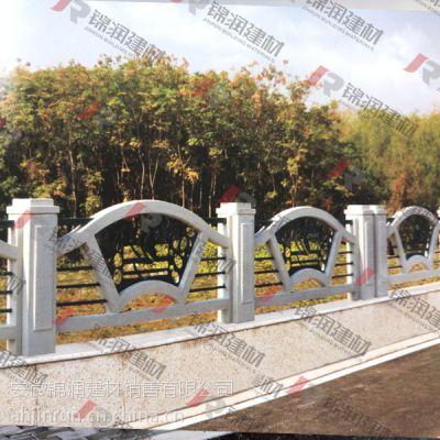供应浙江新款铸造石栏杆 桥梁铸造石护栏 安徽锦润铸造石
