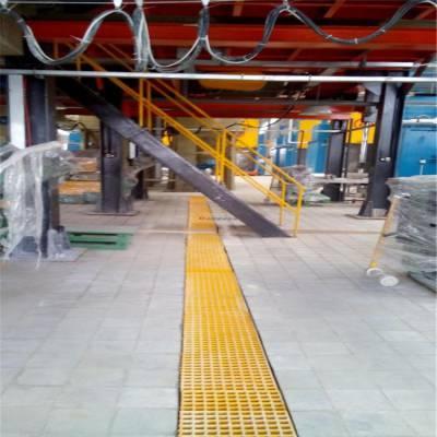 30厚度玻璃钢格栅 排水漏水格栅板 机械踩踏格栅板