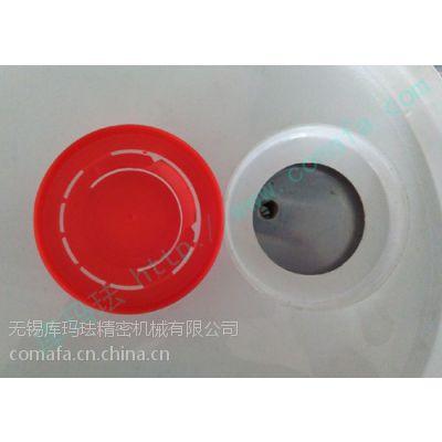供应10l化工塑料桶红胶盖桶盖超声波焊接机
