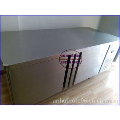 承德不锈钢平面操作台,奶茶店冷藏柜卧式直冷,蛋糕房后厨保鲜柜