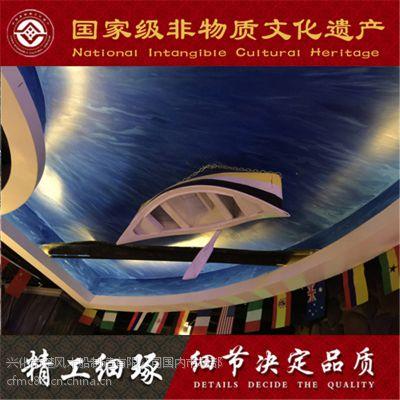 浙江哪可以做优质室内吊顶装饰木船 定做制作摄影道具船