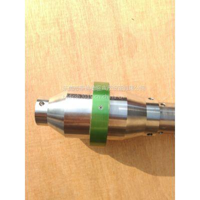 出售二手必能信超声波101-149-059钛合金绿银色1:1调幅器变频杆振子