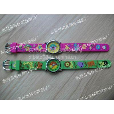 供应PVC软胶手表带、卡通动漫手表带、手表配件(图)