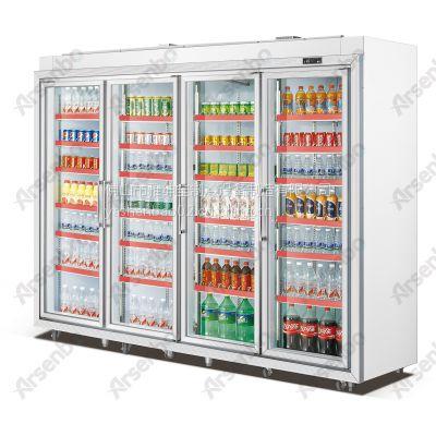 饮料冰箱 四门冰柜价格 室外机组饮料冰箱雅绅宝FG27L4F 饮料售后保修电话怎么查
