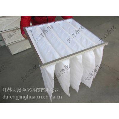 大峰净化 492*492*500*5袋 初效过滤 初效布袋过滤器 无纺布过滤袋