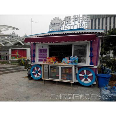 万达商业街售货亭,珠海游乐园售卖亭,黄石公园玻璃钢售货亭