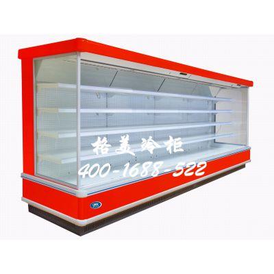 整体式立式风幕柜/深圳风幕柜价格/超市风幕柜/水果风幕柜/格美冷柜风幕柜
