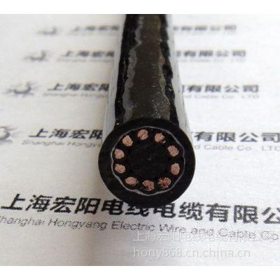 供应10芯聚氨酯特种电缆 PUR拖链电缆 宏阳拖链电缆 屏蔽柔软电缆