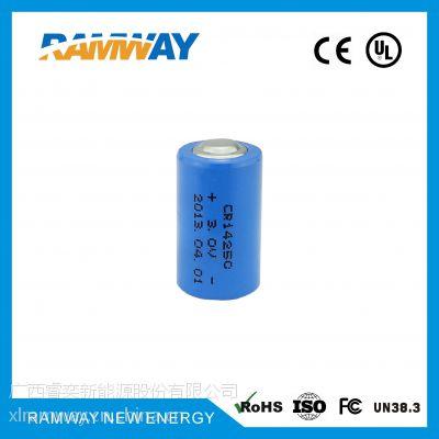 厂家直销 睿奕ramway 3.0V 600mAh CR14250锂电池