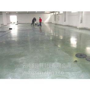 供应昆明混凝土固化剂地坪施工我们信赖云南舒特公司15388844436 地坪工程:坚硬耐磨,渗