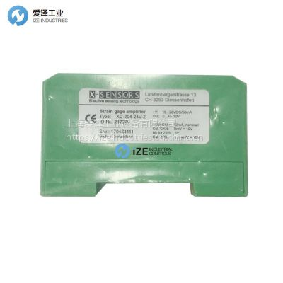 X-SENSORS放大器XC-204-24V-2 ID287229全系列