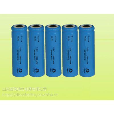 供应DISON迪生3.2V 18650型1400mAh磷酸铁锂电池