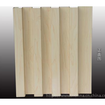 户外招牌造型铝长城板,木纹凹凸铝单板厂家