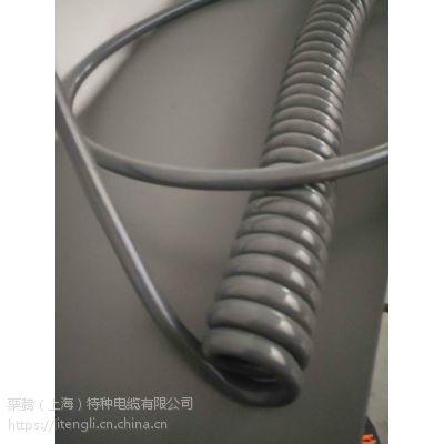 栗腾(上海)特种电缆供应 弹簧电缆 特性;耐油、柔软、抗扭力、阻燃、耐磨