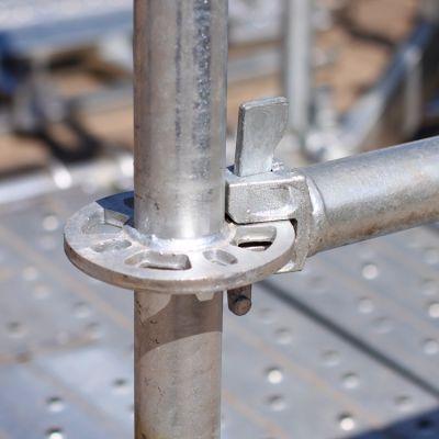 盘扣式脚手架生产工艺 双面自动化焊接 精度高