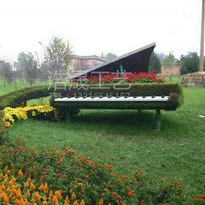 浩晟工艺假植物创新仿真绿雕钢琴仿真绿雕免费设计运送一条龙服务