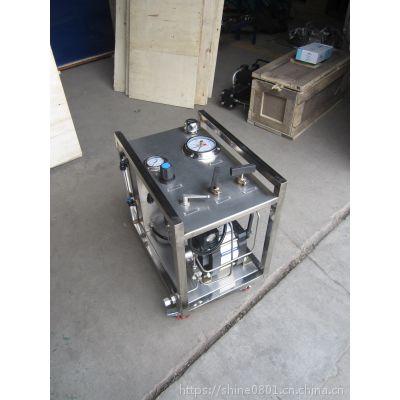 气驱液体增压机 压力可达200mpa