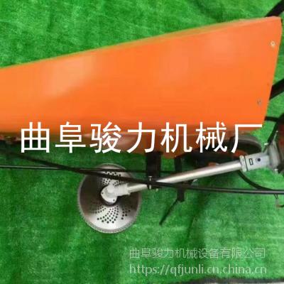骏力供应 小型单行玉米收割机 秸秆割倒机 全功能小型收割机 质优价廉