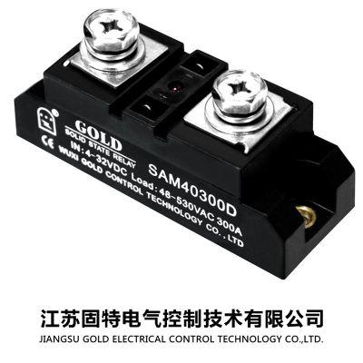 【工业级单相固态继电器SSR】SAM100100DL 耐压为250—630v固特厂家自行研发生产