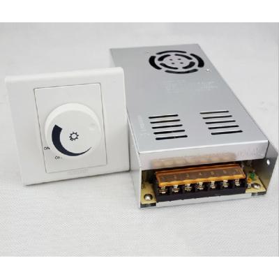 350W恒压电源 LED驱动电源外置可控硅MR16调光24V灯条灯带调光12V
