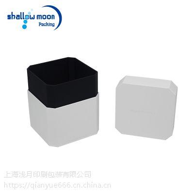 上海厂家订制设计 高档黑白烫金礼盒
