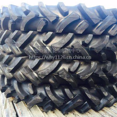 直销泰山轮胎12.4-48大马力拖拉机中耕机轮胎 耐磨抗刺扎电话15621773182