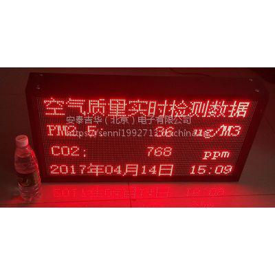 室内PM2.5实时监测LED显示屏