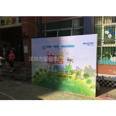 深圳户外广告牌制作,灯箱布喷绘,灯箱广告桁架搭建厂家