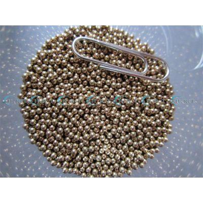 包邮实心黄铜球2mm铜珠2.5mm3毫米设备机器使用铜珠子广东厂家