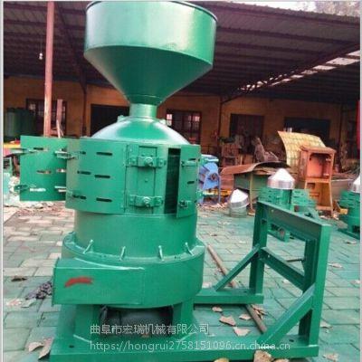 水稻脱皮机 脱皮机 家用小型碾米机宏瑞生产厂家
