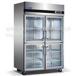 格林斯达星星B款四门冷藏展示柜SG1.0L4-X标准款四门冰箱