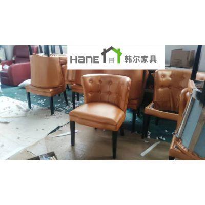 供应合肥港式餐厅桌椅 简约现代桌椅 上海韩尔家具定做