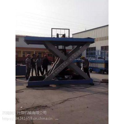 绍兴大吨位導軌式升降機 【pt游戏平台】固定式液壓升降台維修 三层厂房用货梯