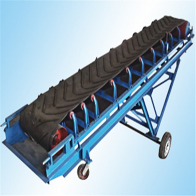 皮带输送机介绍设备 兴亚袋装茶叶皮带输送机