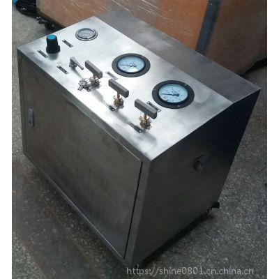 高压氮气增压系统 用于氮气充装、高压压力测试赛思特