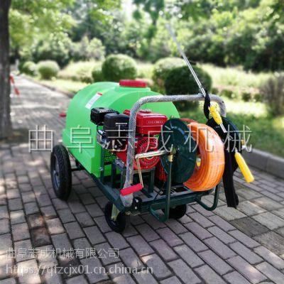 推荐养殖场消毒喷雾器 四轮推车打药喷洒机 高压杀虫打药机