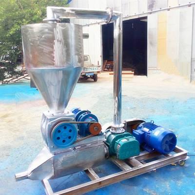 [都用]粉煤灰装卸气力吸粮机 大型风送式粮食吸粮机